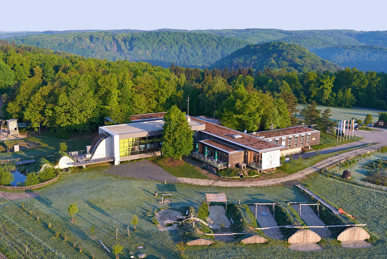 Das Nationalparkhaus zwischen Merkersdorf und Hardegg ist der ideale Ausgangspunkt für Erkundungen im Nationalpark Thayatal.