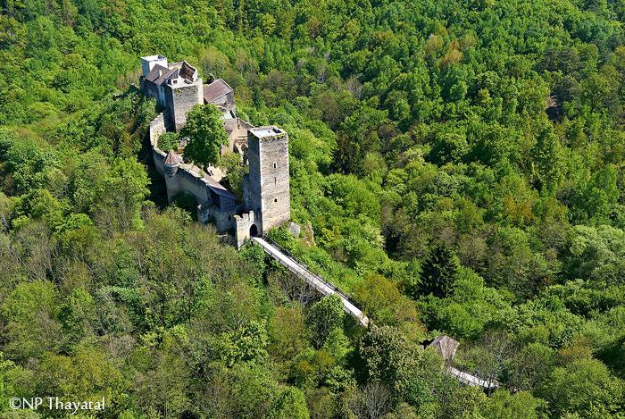 Die sagenhafte Burg Kaja.