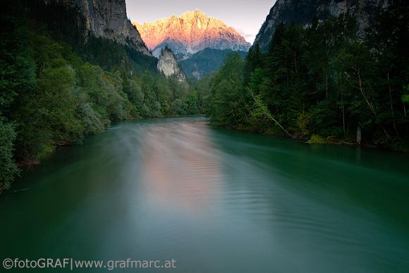 Der Nationalpark Gesäuse ist geprägt von Wasser, Wald und Fels.